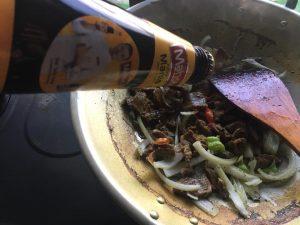 daging goreng style kelantan