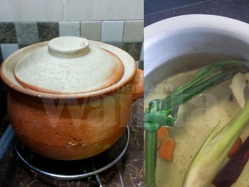Anda boleh mengamalkan minum air rebusan ni setiap hari bila terdaya Air Rebusan Untuk Awet Muda