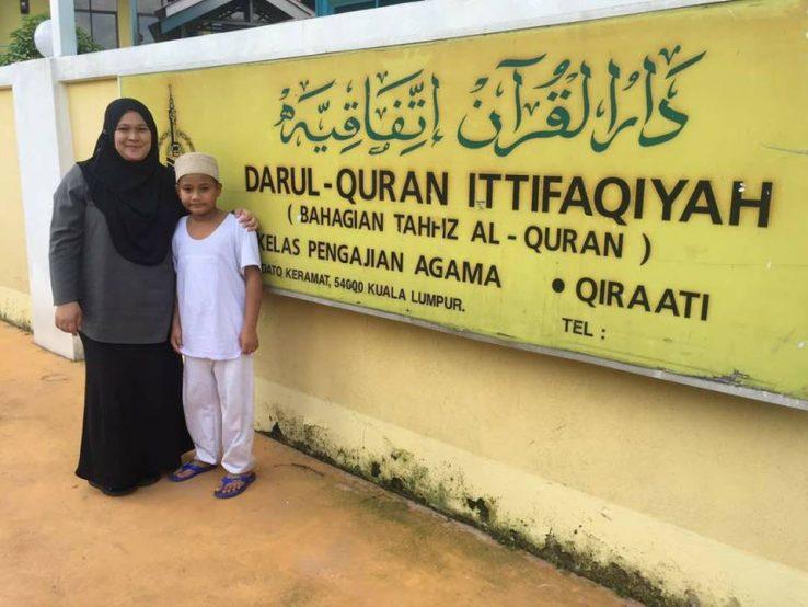 Image result for mak mangsa KEBAKARAN PUSAT Tahfiz