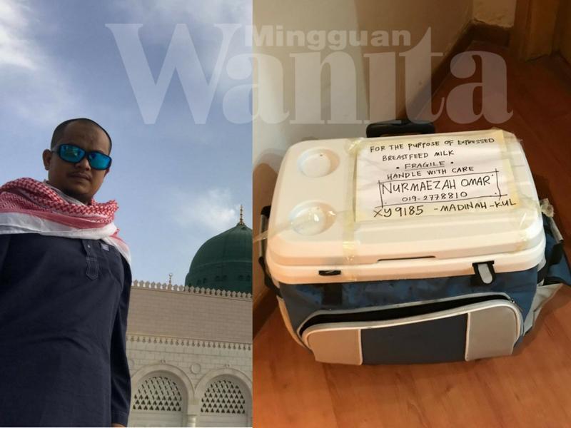 Lelaki Ini Kongsi 8 Tip Bawa Pulang Stok Susu Ibu Dari Makkah Ke Malaysia, 44 Hari Selamat Tak Jadi Keju