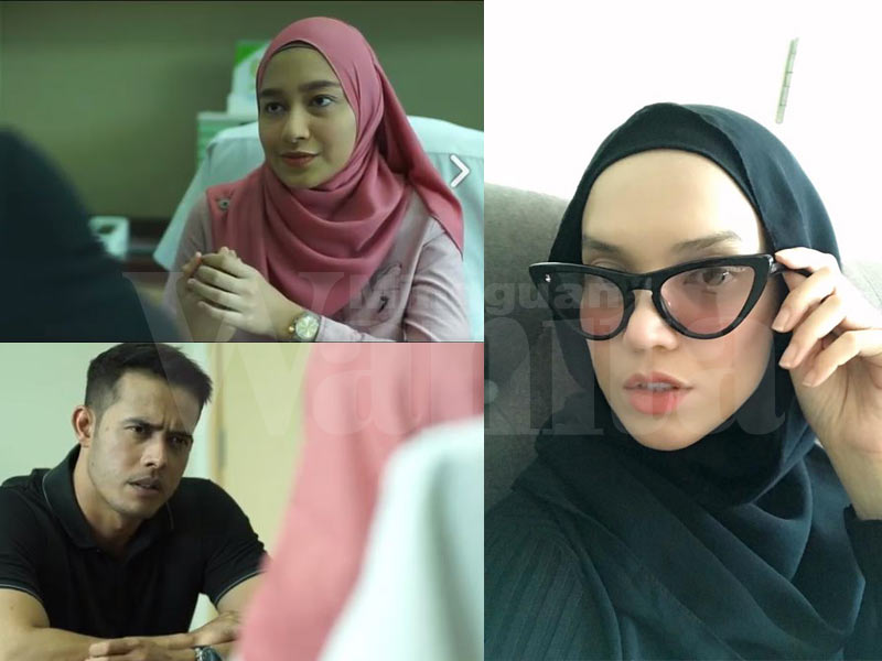 Drama Titian Cinta Dihentam Netizen, Faezah Elai Bengang & Buka Cerita Sebenar