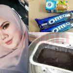 Kek Oreo Viral Versi Kukus, Bajet Bawah RM10 & Guna Dua Bahan Je