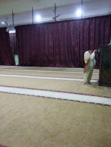 bawa isteri ke masjid