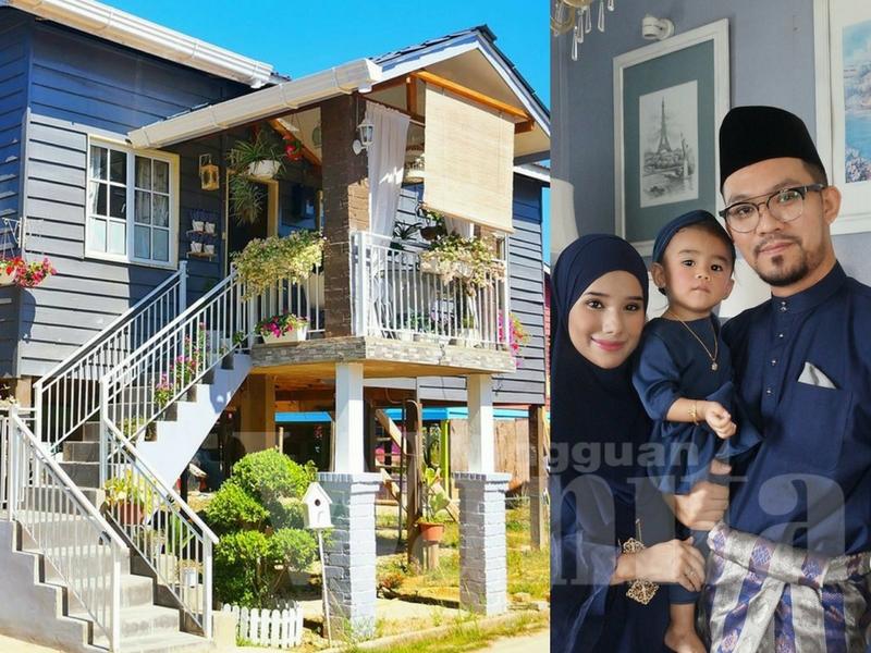 810 Koleksi Gambar Contoh Rumah Kayu Dua Tingkat HD