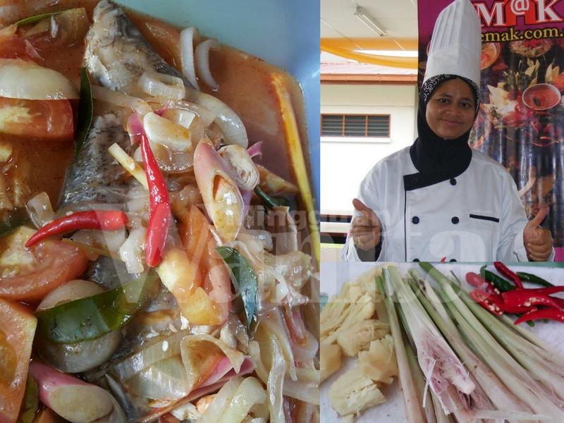 Chef Ustazah Ini Kongsi Resepi Siakap Rebus Tomyam, Mudah Saja Cuma 20 Minit Penyediaan
