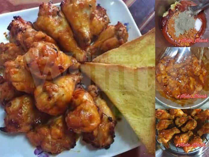 resepi ayam bakar