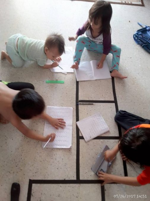 ruang belajar interaktif
