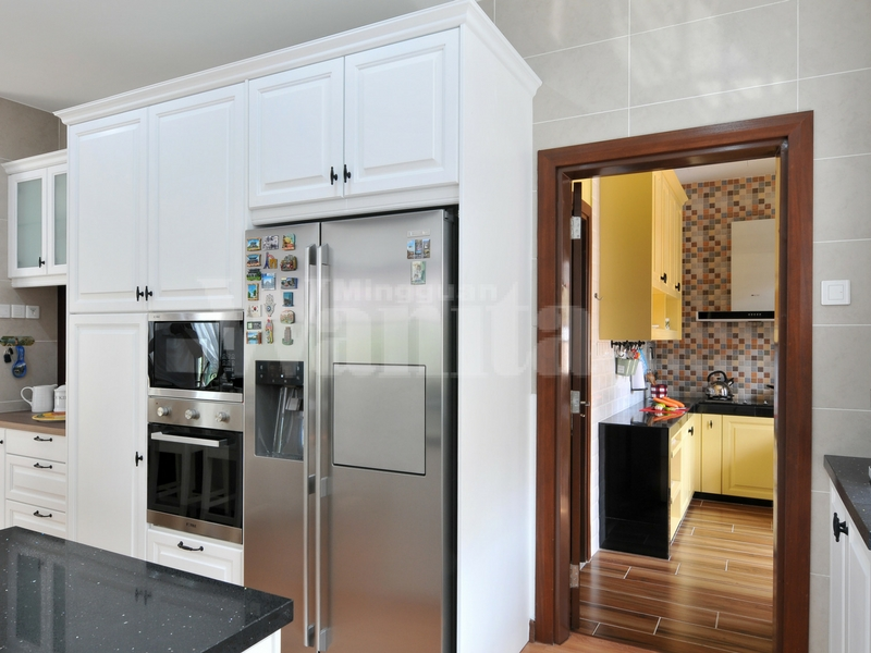 Meskipun Ruang Dapur Basah Ini Hanya Berkeluasan 50 Kaki Gi Namun Bagi Pemilik Ia Praktikal Untuk Kegunaan Harian Tanpa Perlu Ditambah Keluasan