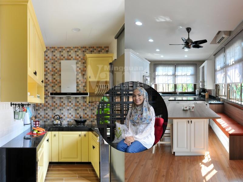 Jika Mak Ada Perancangan Nak Ubahsuai Dapur Tu Bolehlah Cedok Idea Berkonsep American Clic Milik Wanita Ini Sebagai Rujukan Dan Sumber