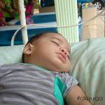 anak tidur lena