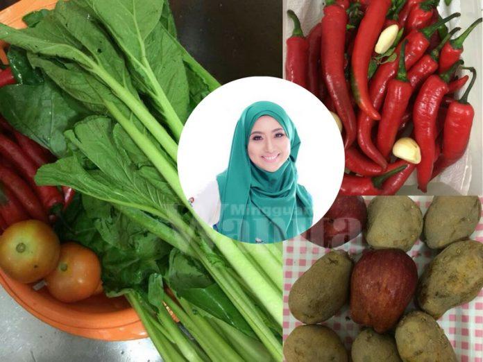 tip simpan sayur