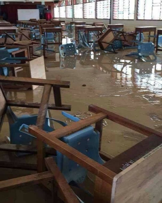 banjir kilat di pulau pinang, tolong jangan gelojoh