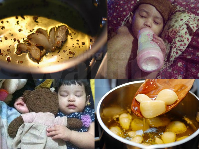 2 Cara Sediakan Minyak Bawang Putih Di Rumah Untuk Atasi Selesema Cairkan Kahak Batuk Anak Mingguan Wanita
