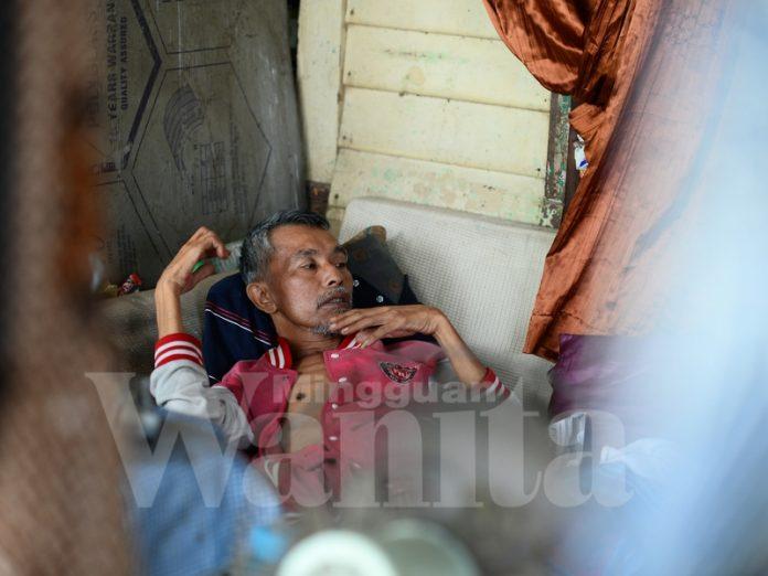 Akibat Saraf Tunjang Sebulan Lelaki Ini Terlantar Di Hospital, Demi Masalah Jantung Anak Isteri, Dia Kembali Berjalan