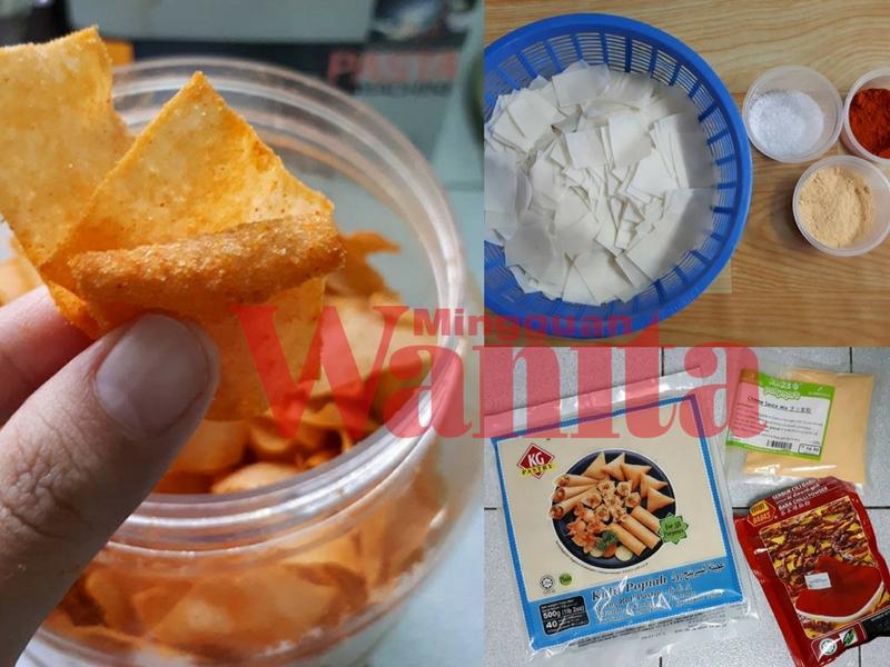 3 Langkah Mudah Buat Popia Wonder Cheese Viral, Kudapan Krukk Krukk Paling Senang & Sedap!