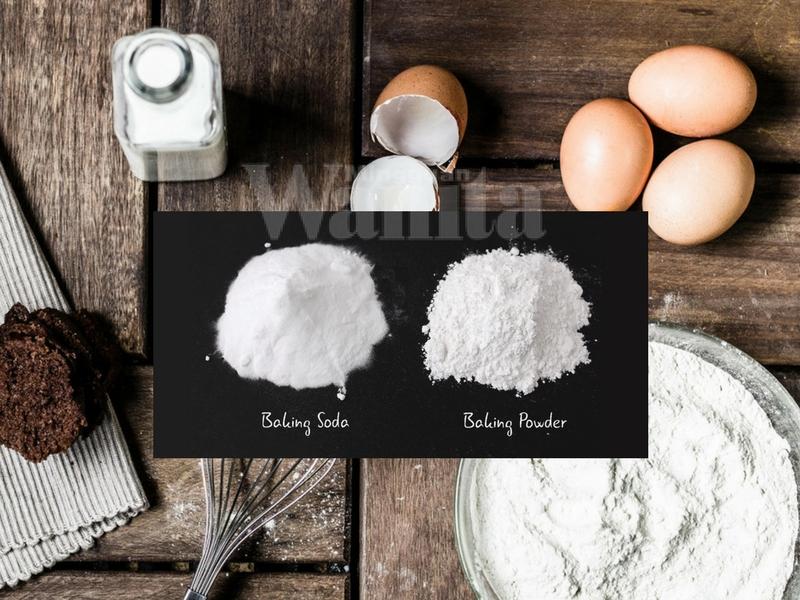 Fungsi Baking Soda & Baking Powder, Ini Cara Sebenar Penggunaannya Barulah Resipi Menjadi!