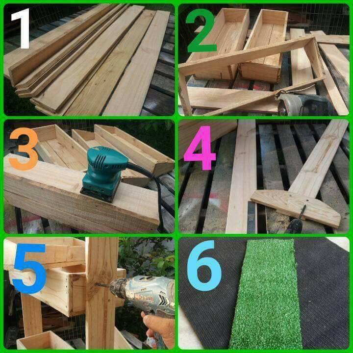 Dapatkan Kayu Pallet Saya Guna Pine Wood 2 Potong Mengikut Bentuk Kotak Dan Paku Anggaran Panjang Lebar Sendiri