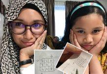 Mudahnya Kakak Hafal Sifir 2, 4, 6, 8, Ibu Ini Dedah 'Tidur Awal' Rahsia Otak Anak Cukup Rehat, Fresh Belajar Pagi Hari