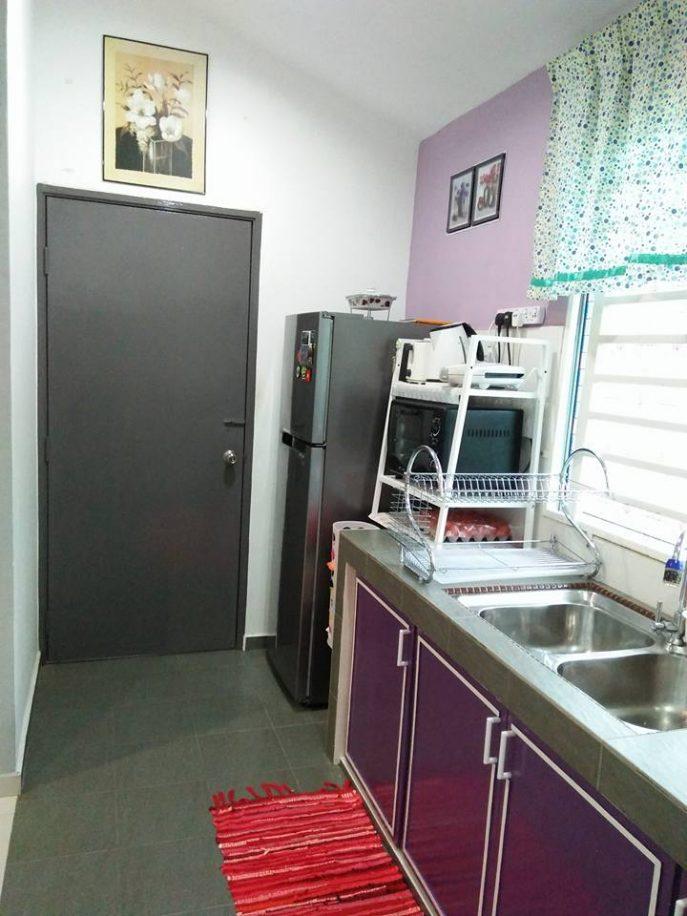 Hasil Diy Pintu Kabinet Dapur Bajet Sumber Foto
