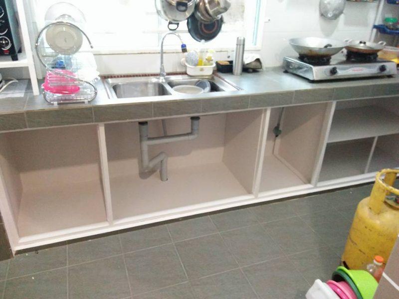 A 2 Minggu Siapkan Diy Pintu Kabinet Dapur Bajet Kata Suami Isteri Ini Modalnya Rm250