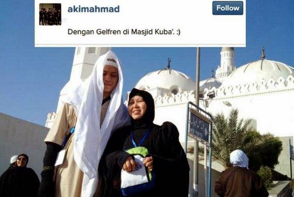 Akim Ahmad dan ibunya