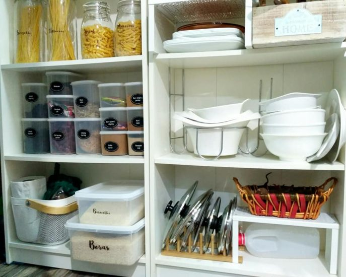 Ini Dia Harga Dan Senarai Barang Ikea Yang Digunakan Dalam Pantry Farmhouse