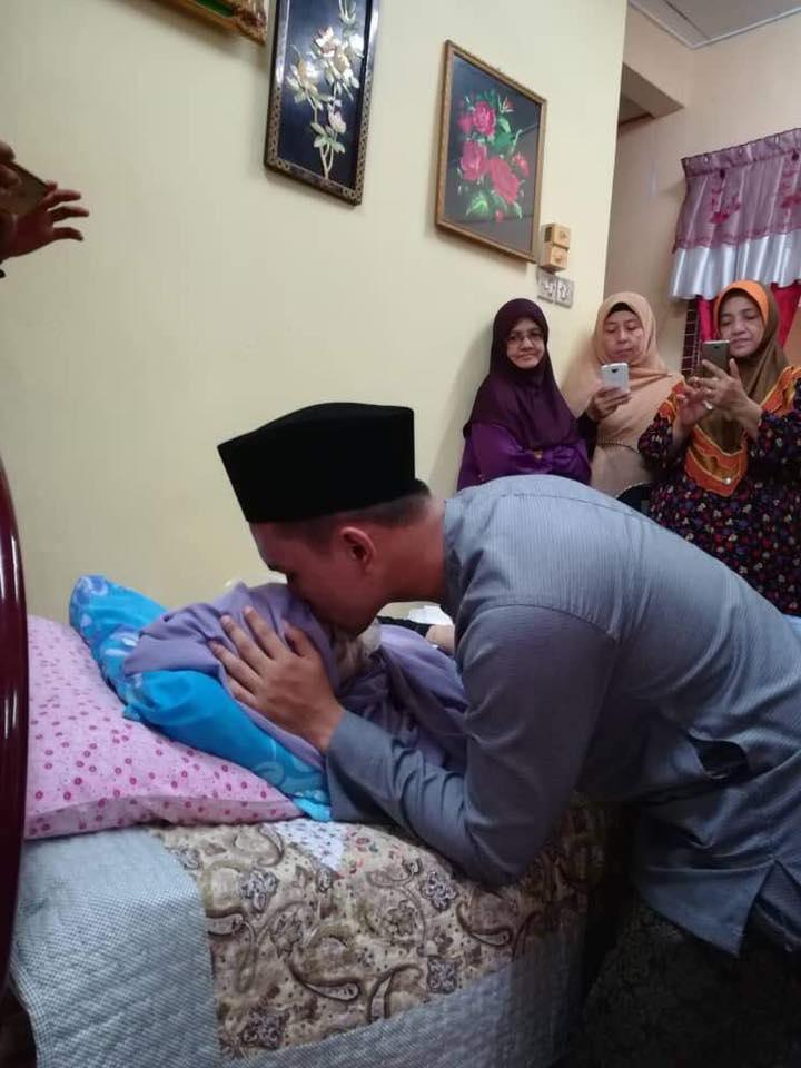 Kisah Cinta Agung, Sehari Selepas Nikah Isterinya Dijemput Ilahi