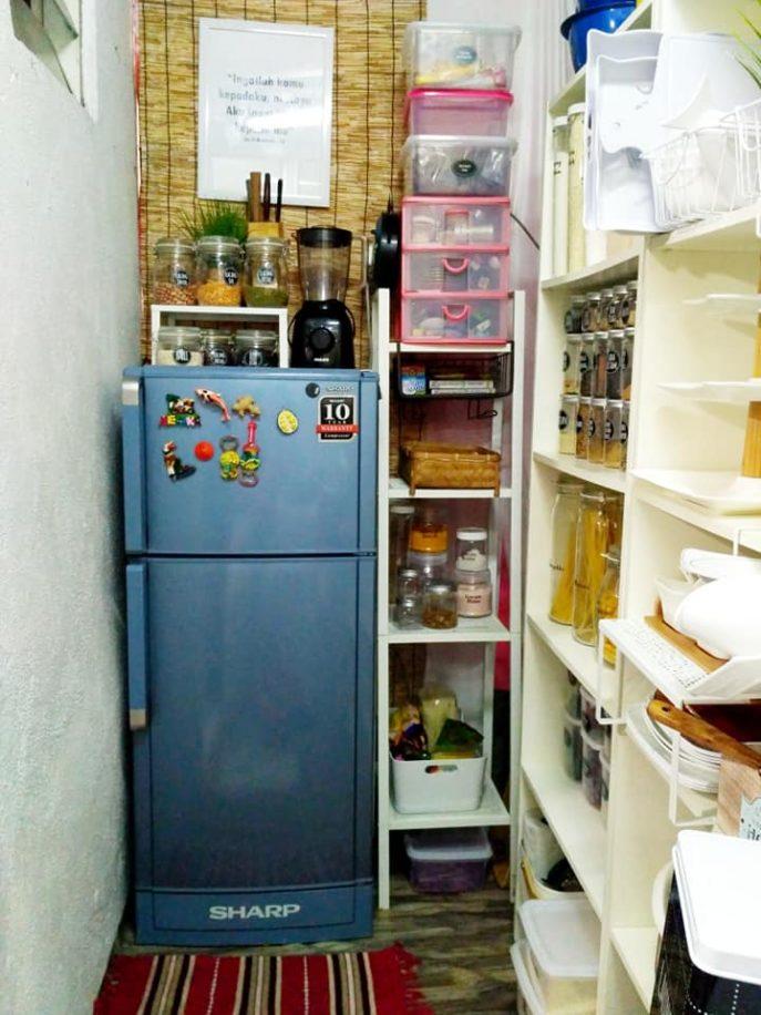 Hiasan Dapur Kecil Tanpa Kabinet