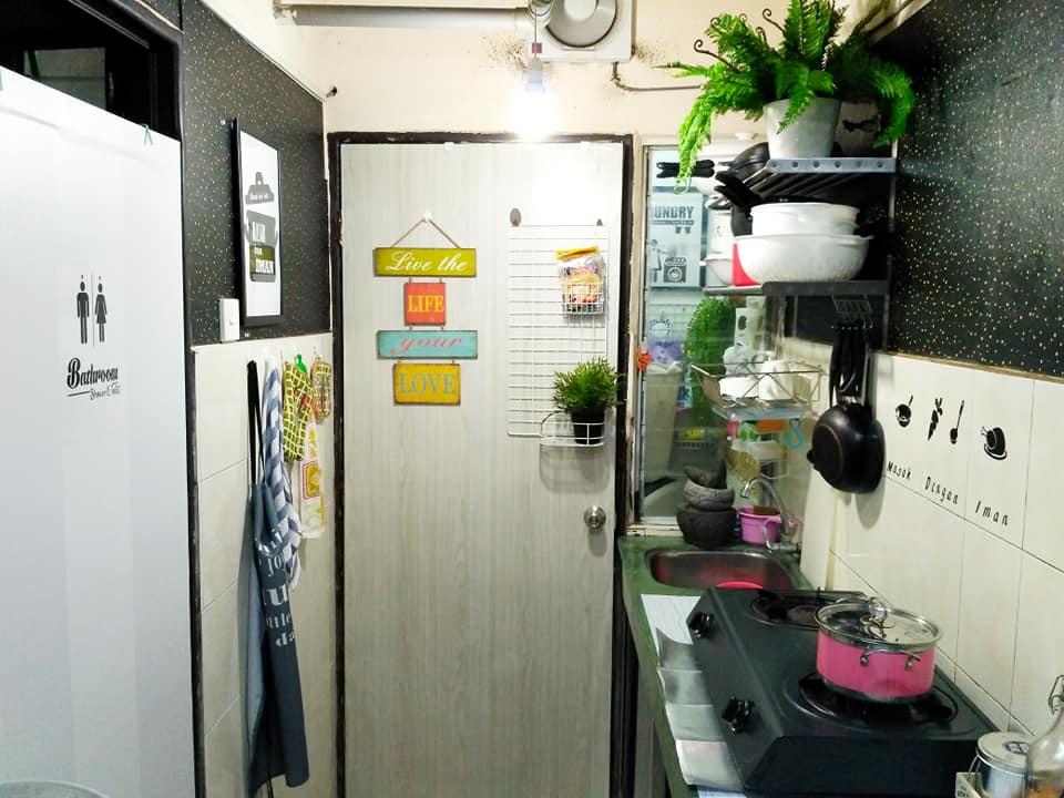 Wanita Ini Kongsi Idea Deko Dapur  Kecil Ala FARMHOUSE