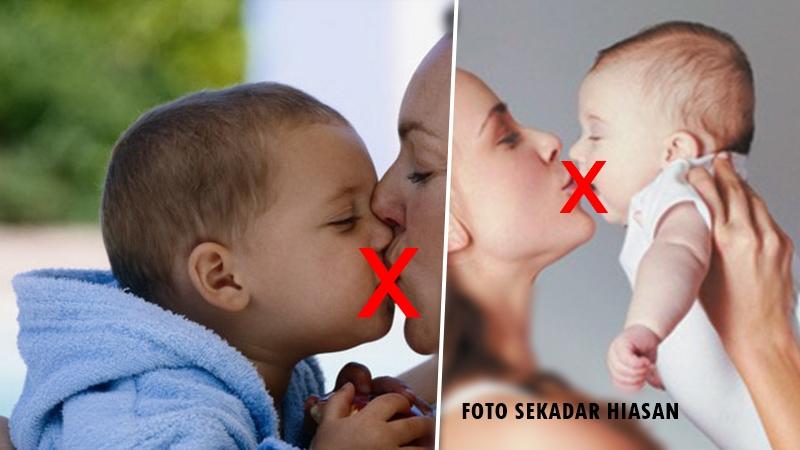 Hafal 4 Tempat Ciuman Dan 6 Bahagian Gosokan Anak, Sentuhan Ini Kurangkan Sikap 'Liar'