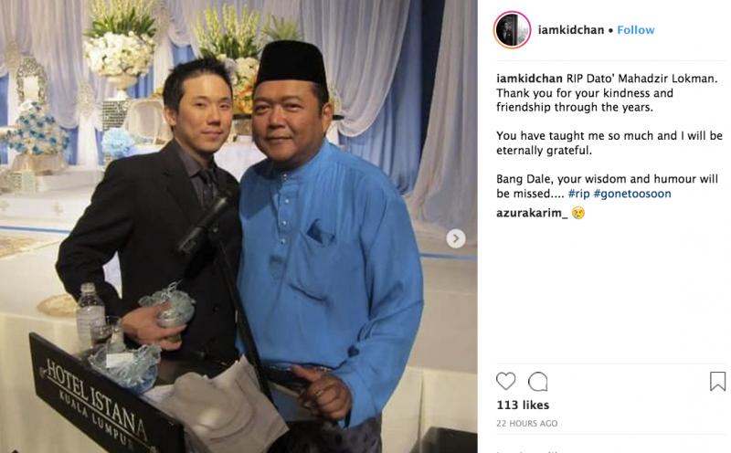 Jenazah Datuk Mahadzir Lokman Bersemadi Sebelah Pusara Ibu Ayah