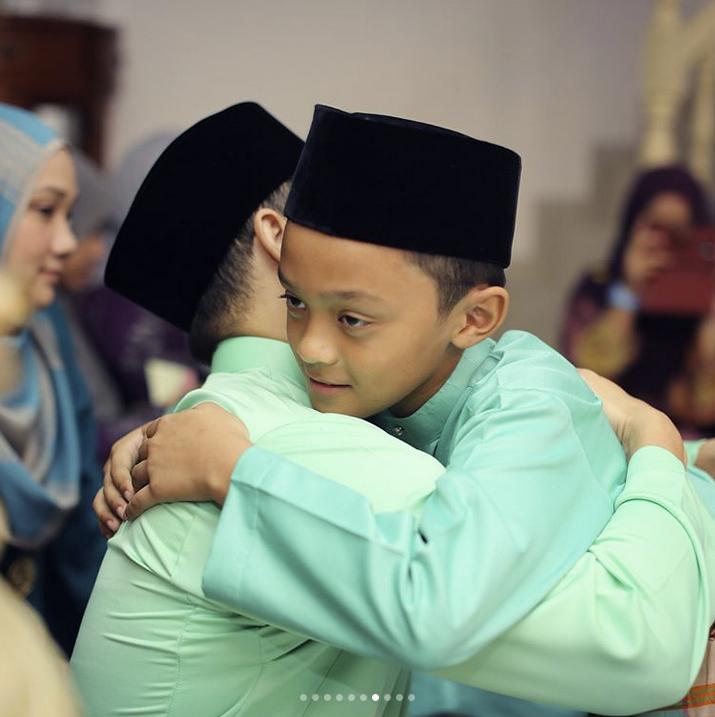 Anak Lelaki Pertama Aidid Marcello Khatam Al Quran, Ini Pesanan Daddy Agar Iman Tak Lupa