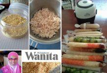 Serbuk Ayam Homemade, Bubur Aiskrim Untuk Anak 6 Bulan++, Sesuai Dicuba Mak Yang Nak Bercuti