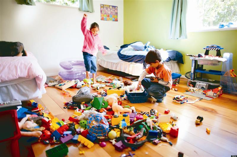 rumah bersepah