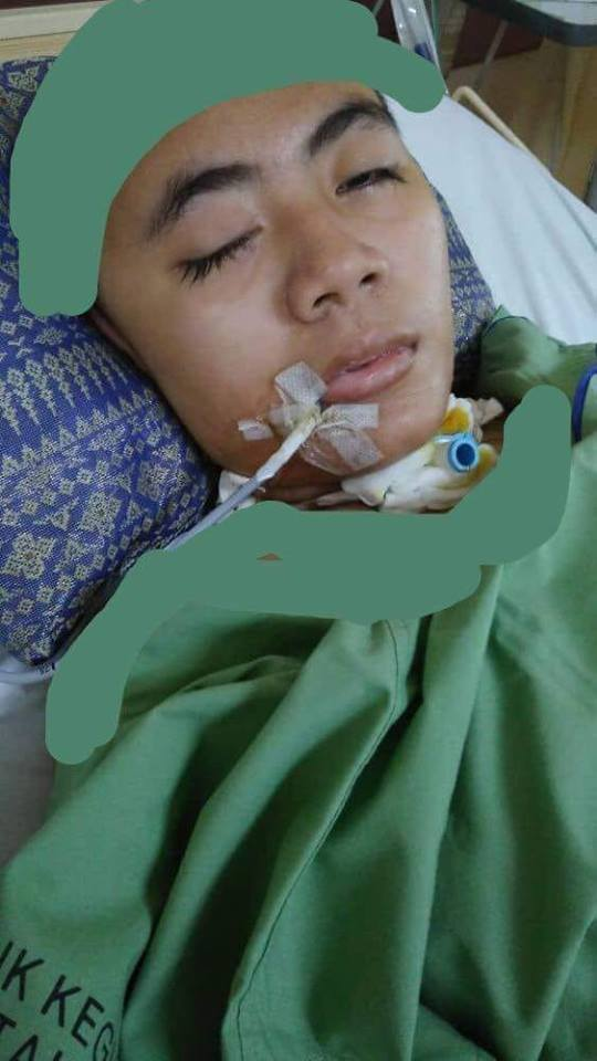 'Sebelah Tempurung Kepala Dibuang, Lebih 92 Hari Koma' Bantulah Gadis Terlantar Ini