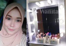Vanity Mirror Cantik Ni Cuma RM54, Buat Sendiri Guna Barang Kedai Eco