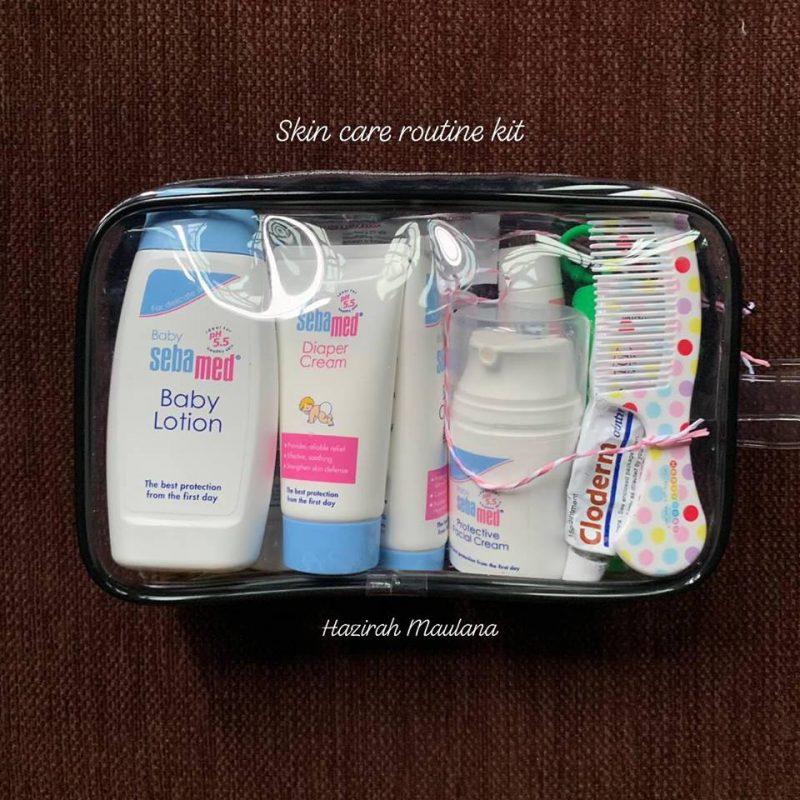 Mak Ayah Nak Jalan Jauh, Pastikan Travel Kit Anak Bersusun Lengkap Macam Ini