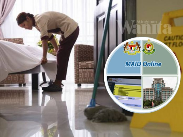 sistem maid online