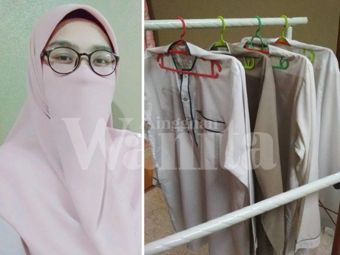 Cuma Guna 2 Hanger, Baju Lepas Iron Kekal Licin Dan Tak Berkedut